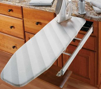 Ironfix Drawer Mounted Ironing Board