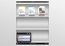 iPad App shelf