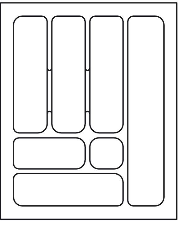 欧式刀叉简笔画矢量图
