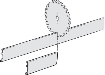 Clip panel, For combination track