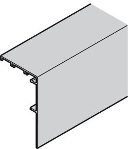 Clip panel, for wall bracket