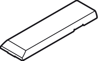 Cover caps, For Tiomos concealed hinge