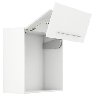 Double flap lift-up fitting, Free fold for flaps made from wood or with aluminium frame