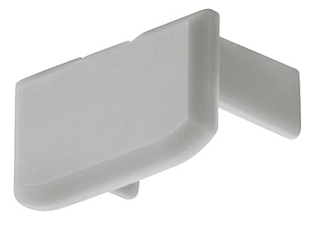 End cap, For profile for surface mounting, height 8.5 mm