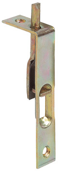 Furniture bolt, for recess installation in front edge