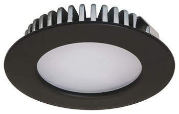 Recess mounted light/down light, round, Häfele Loox LED 2020, zinc alloy, 12 V