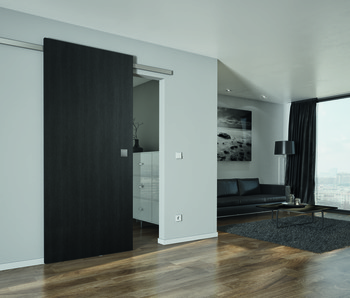 Sliding door fitting, Slido Design 40-V/80-V, set