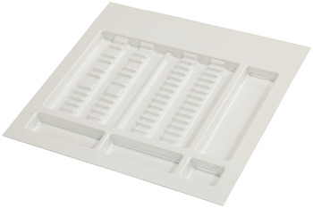 Special insert, medical area, instrument compartments, flat, plastic